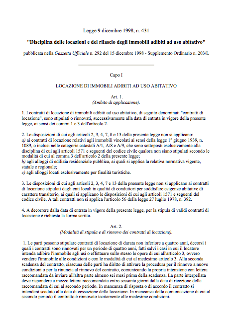 Rinnovo contratto di locazione commerciale autos weblog for Rinnovo contratto affitto