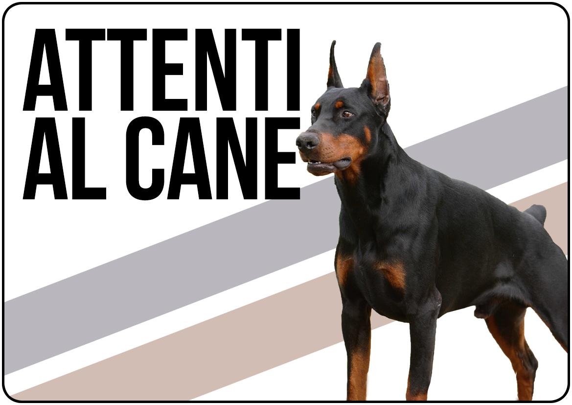 Cartello attenti al cane da stampare gratis for Cane da colorare e stampare
